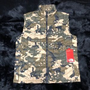 The North Face Thermoball Vest Camo Insulated New